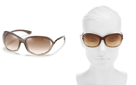 Tom Ford Jennifer Polarized Round Sunglasses, 61mm - Bloomingdale's_2