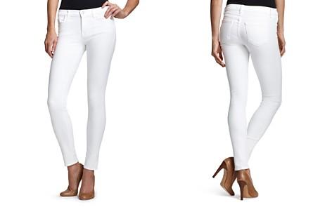J Brand Jeans Mid Rise 811 Skinny in Blanc - Bloomingdale's_2