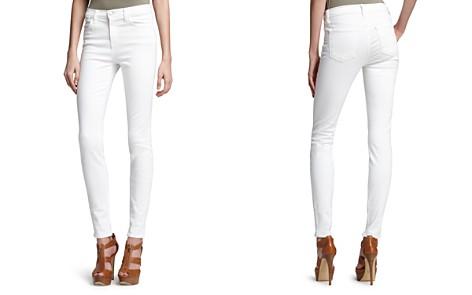 J Brand High Rise Maria Skinny Jeans in Blanc - Bloomingdale's_2