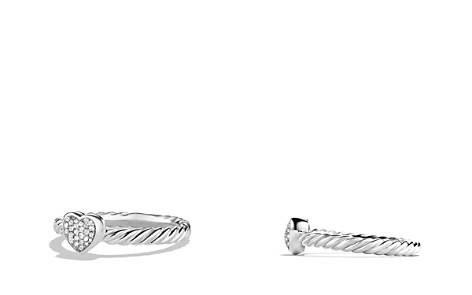 David Yurman Cable Collectibles Heart Ring with Diamonds - Bloomingdale's_2