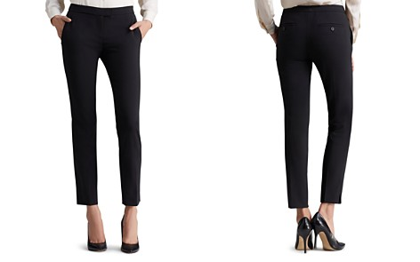 Theory Ibbey Straight-Leg Pants - Bloomingdale's_2
