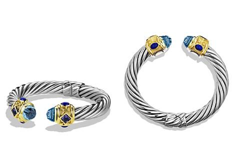 David Yurman Renaissance Bracelet with Blue Topaz, Iolite & Gold - Bloomingdale's_2