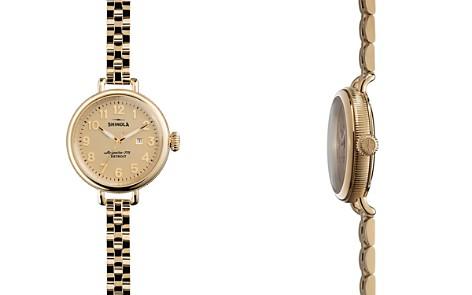 Shinola Gold-Tone Birdy Watch, 34mm - Bloomingdale's_2