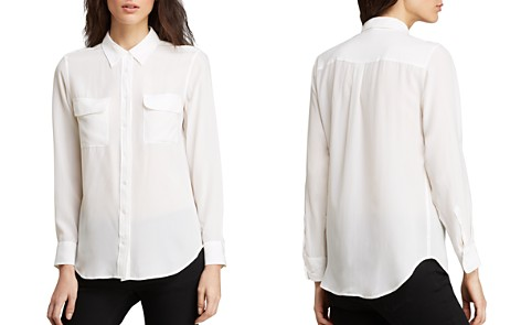 Equipment Slim Signature Silk Shirt - Bloomingdale's_2
