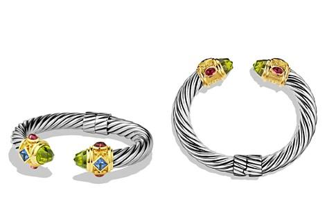 David Yurman Renaissance Bracelet with Peridot, Iolite & Gold - Bloomingdale's_2