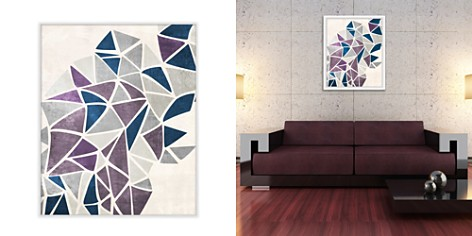 PTM Images Burst of Purple Triangles Wall Art - Bloomingdale's Registry_2