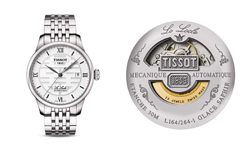 Tissot Le Locle Men's Double Happiness 2014 Steel Watch, 39mm - Bloomingdale's_2