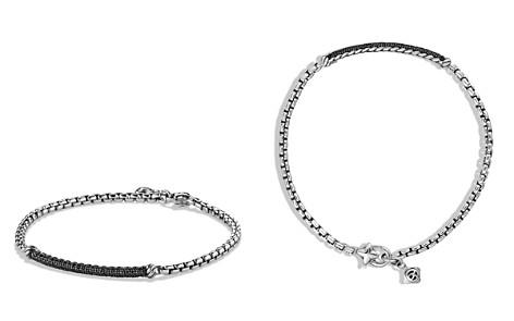 David Yurman Petite Pavé Bar Metro Bracelet with Black Diamonds - Bloomingdale's_2