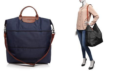 Longchamp Le Pliage Expandable Travel Duffel Nylon Weekender - Bloomingdale's_2