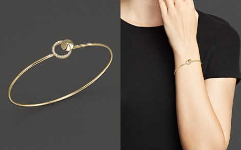 KC Designs Diamond Circle Bangle in 14K Yellow Gold - Bloomingdale's_2