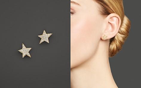 KC Designs Diamond Star Stud Earrings in 14K Yellow Gold - Bloomingdale's_2