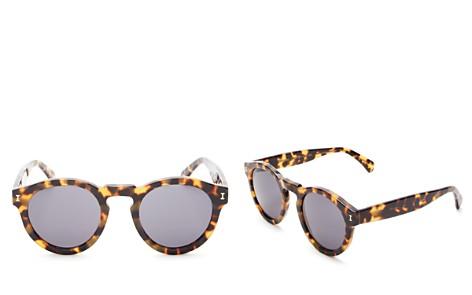 Illesteva Leonard Round Sunglasses, 48mm - Bloomingdale's_2