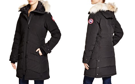 Canada Goose Lorette Coyote Fur Trim Down Coat - Bloomingdale's_2