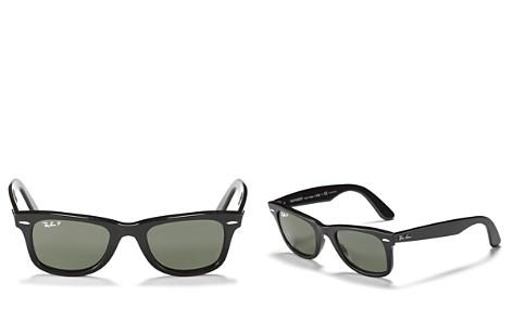 Ray-Ban Polarized Wayfarer Sunglasses, 50mm - Bloomingdale's_2