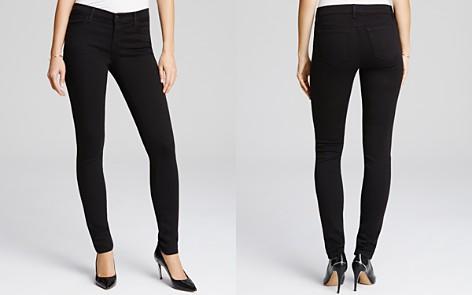 J Brand 620 Skinny Jeans in Seriously Black - Bloomingdale's_2