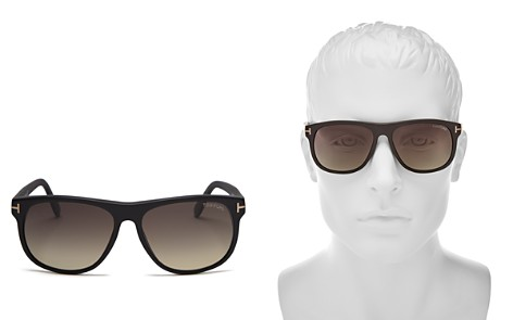 Tom Ford Olivier Polarized Sunglasses, 55mm - Bloomingdale's_2