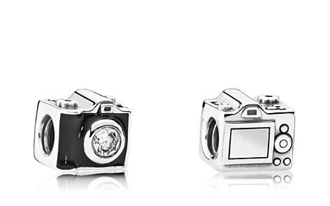 PANDORA Charm - Sterling Silver & Cubic Zirconia Sentimental Snapshots, Moments Collection - Bloomingdale's_2