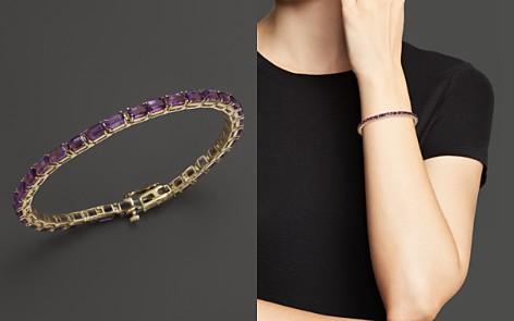 Amethyst Bracelet in 14K Yellow Gold - 100% Exclusive - Bloomingdale's_2