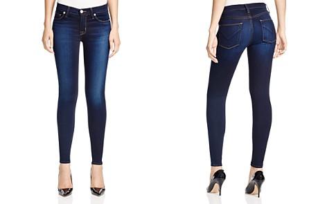 Hudson Nico Mid Rise Super Skinny Jeans in Redux - Bloomingdale's_2
