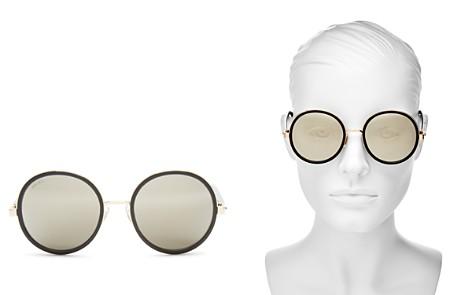 Jimmy Choo Women's Andie Round Sunglasses, 53mm - Bloomingdale's_2