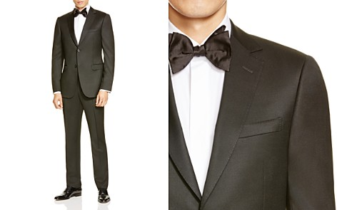 Z Zegna Black Wool D8 Slim Fit Suit - Bloomingdale's_2