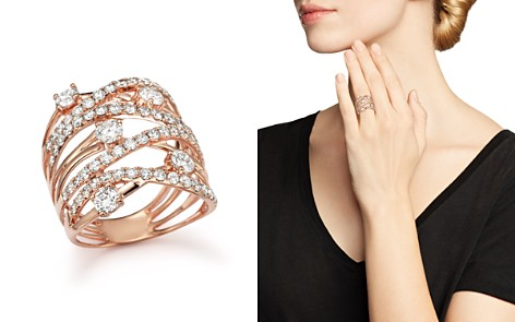 Diamond Statement Ring in 14K Rose Gold, 2.25 ct. t.w. - 100% Exclusive - Bloomingdale's_2