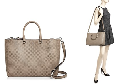 Tory Burch Robinson Perforated Convertible Satchel Bloomingdale S 2
