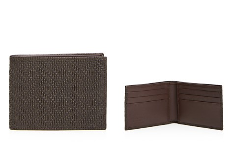 The Men's Store at Bloomingdale's Woven Bifold Wallet - 100% Exclusive_2
