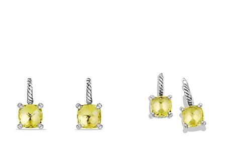 David Yurman Châtelaine Drop Earrings with Lemon Citrine and Diamonds - Bloomingdale's_2