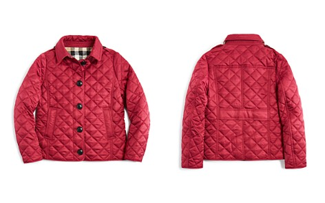 Burberry Girls' Diamond Quilted Jacket - Little Kid, Big Kid - Bloomingdale's_2