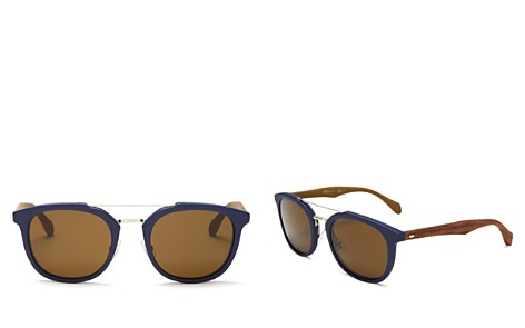 BOSS HUGO BOSS Men's Round Sunglasses, 51mm - Bloomingdale's_2