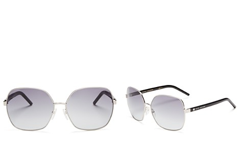 MARC JACOBS Square Sunglasses, 61mm - Bloomingdale's_2