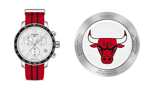 Tissot Chicago Bulls Quickster Stainless Steel Chronograph, 42mm - Bloomingdale's_2
