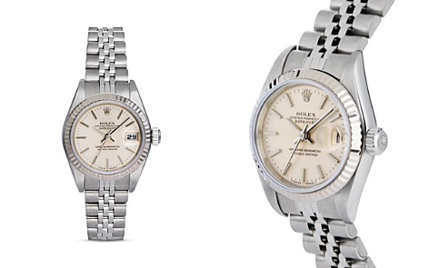 Pre-Owned Rolex Stainless Steel and 18K White Gold Datejust Watch with Jubilee Bracelet, 26mm - Bloomingdale's_2