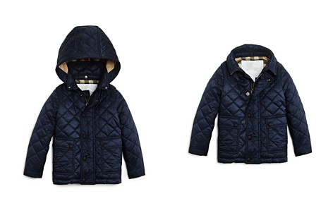 Burberry Unisex Quilted Hooded Jacket - Baby - Bloomingdale's_2