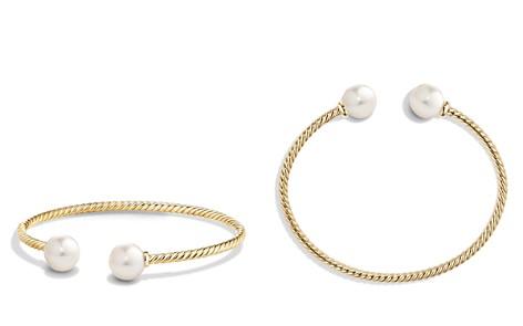 David Yurman Solari Pearl Bead Cuff Bracelet in 18K Gold - Bloomingdale's_2