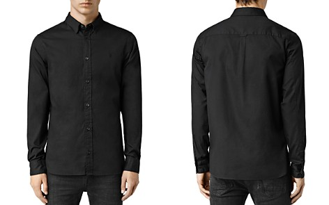 ALLSAINTS Redondo Slim Fit Button-Down Shirt - Bloomingdale's_2