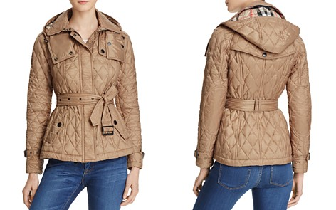 Burberry Short Finsbridge Quilted Coat - Bloomingdale's_2