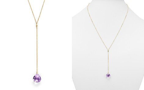 """Amethyst Briolette Y-Necklace in 14K Yellow Gold, 22"""" - 100% Exclusive - Bloomingdale's_2"""