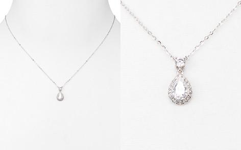 Nadri initial necklace bloomingdales nadri miss nadri pendant necklace 16 bloomingdales2 aloadofball Choice Image