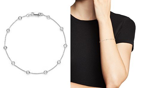 Diamond Station Bracelet in 14K White Gold, .50 ct. t.w. - 100% Exclusive - Bloomingdale's_2