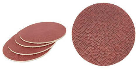 Owen & Fred NFL Football Leather Coasters, Set of 4 - Bloomingdale's_2