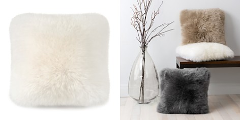 "UGG® Sheepskin Decorative Pillow, 18"" x 18"" - Bloomingdale's_2"