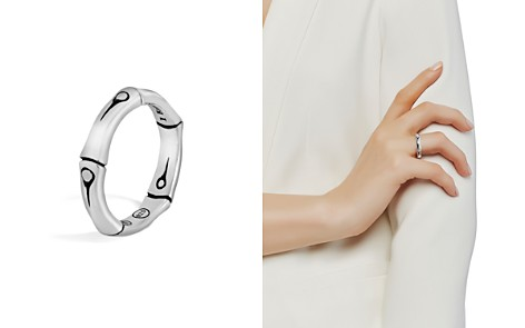 John Hardy Sterling Silver Bamboo Band Ring - Bloomingdale's_2