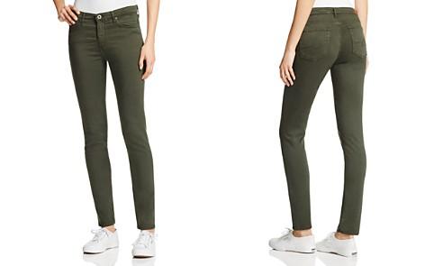 AG Prima Cigarette Jeans in Sulfer Dark Moss - Bloomingdale's_2
