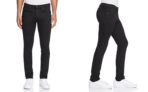 J Brand Tyler Taper Athletic Fit Jeans in Seriously Black - Bloomingdale's_2