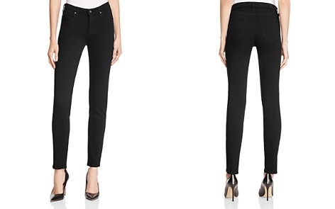 AG Prima Mid Rise Jeans in Black - Bloomingdale's_2