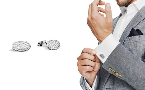 John Hardy Sterling Silver Classic Chain Cufflinks - Bloomingdale's_2