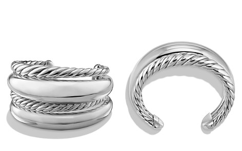 David Yurman Pure Form Four Row Cuff in Sterling Silver - Bloomingdale's_2