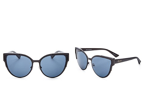 Quay Game On Cat Eye Sunglasses, 60mm - Bloomingdale's_2